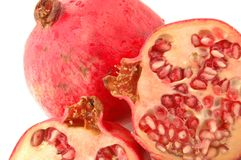 Pomegranate three Royalty Free Stock Image