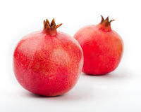 Pomegranate on a white Stock Photo