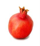 Pomegranate on white background Stock Photography