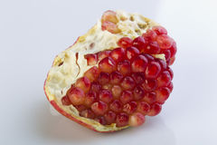 Pomegranate on a white background Royalty Free Stock Images