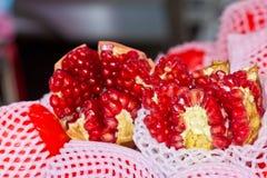 pomegranatefrö Arkivbilder