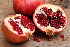 Pomegranatefrukter   Royaltyfri Foto