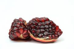 pomegranates белые Стоковое Изображение RF