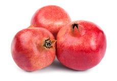 pomegranates зрелые 3 Стоковое Изображение