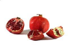 pomegranates некоторые Стоковые Изображения