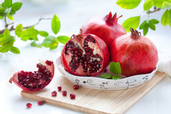 Pomegranates Royalty Free Stock Images