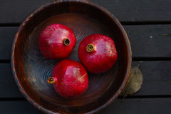 pomegranates foto de stock royalty free