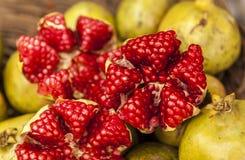 Pomegranates in Bolivia Royalty Free Stock Photography