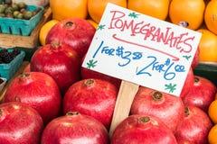 Pomegranates Royalty Free Stock Images