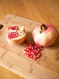 Pomegranates fruit Stock Images