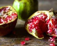 Pomegranates from Mexico Stock Photo