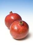 pomegranates två Royaltyfri Fotografi