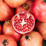 Pomegranates. Royalty Free Stock Photos