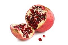 pomegranatesplit Fotografering för Bildbyråer