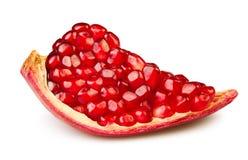 Pomegranatestycke Royaltyfria Bilder