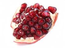 pomegranatewhite Royaltyfri Bild