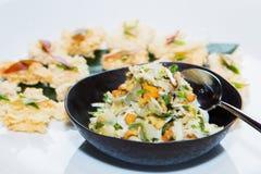 Pomelo και κοτόπουλου σαλάτα Στοκ Εικόνες