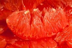 Pomelo φέτα Στοκ εικόνες με δικαίωμα ελεύθερης χρήσης