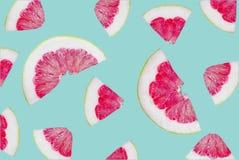 Pomelo φρούτα που απομονώνονται backround στοκ φωτογραφία με δικαίωμα ελεύθερης χρήσης