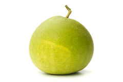 Pomelo. Closeup of pomelo  on white background Royalty Free Stock Photography
