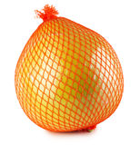 Pomelo or Chinese grapefruit isolated on the white background Royalty Free Stock Photos