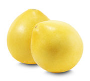 Pomelo or Chinese grapefruit isolated on the white background Royalty Free Stock Photo