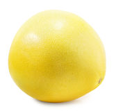 Pomelo or Chinese grapefruit isolated on the white background Stock Images