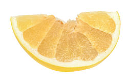 Pomelo or Chinese grapefruit isolated on the white background Stock Image