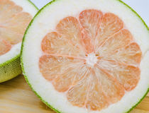 Pomelo or Chinese grapefruit Stock Images
