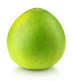 Pomelo citrus fruit  on white Royalty Free Stock Images