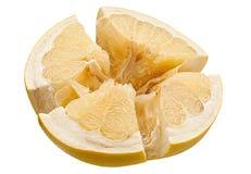 Pomelo citrus fruit on white Stock Photos