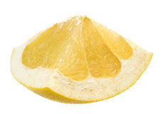 Pomelo citrus fruit on white Royalty Free Stock Image