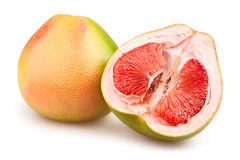 Pomelo cut Royalty Free Stock Images
