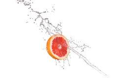 Pomelo en agua fotografía de archivo