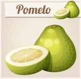 Pomelo fruit. Cartoon vector icon Stock Photo