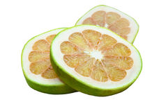 Pomelo fruit isolated Royalty Free Stock Photo