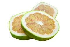 Pomelo fruit isolated Royalty Free Stock Photo