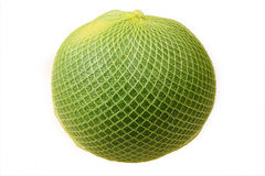 Pomelo in yellow net Stock Images