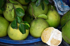 Pomelo fruits Stock Photos