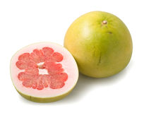 Pomelo and half Royalty Free Stock Photo