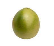 Pomelo, isolated on white. Green pomelo, isolated on white Stock Photography