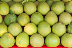 Pomelo in the market Stock Photos