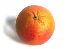 Pomelo rojo en un fondo blanco Imagen de archivo libre de regalías