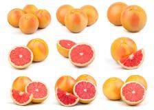 Pomelo rojo fresco Imagen de archivo libre de regalías