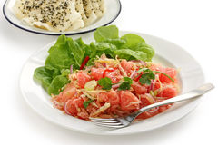 Pomelo salad Stock Photos