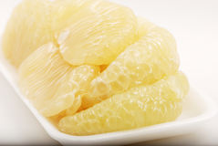 Pomelo sections Royalty Free Stock Photo