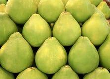 Pomelo verde tailandese del pompelmo Fotografie Stock Libere da Diritti