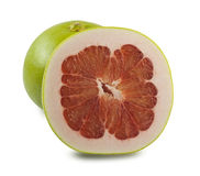 Pomelo on white background Stock Photo