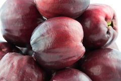 Pomerac, Malay Apple (Syzygium malaccense (L.) Merrill & Perry). Stock Image