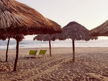 Pomeriggio alla spiaggia fotografia stock libera da diritti